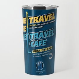 Time Travel Cafe Travel Mug