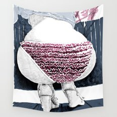Frou-frou Wall Tapestry