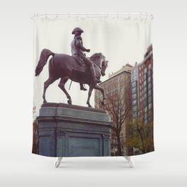 Washington in Boston Common Shower Curtain