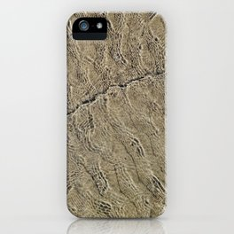Glassy Sand iPhone Case