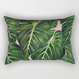 Tropical II Coral Rectangular Pillow