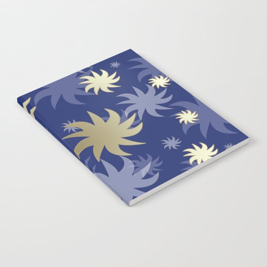 CHRISTMAS STARS 02 Notebook