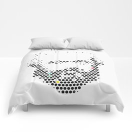 Marx in Dots Comforters
