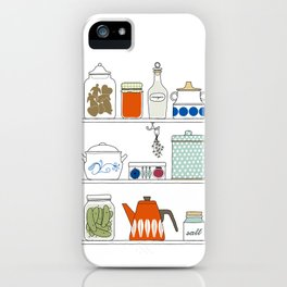 Scandinavian Pantry iPhone Case