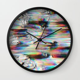 Spectral Wind Erosion Wall Clock