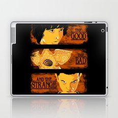 The good The bad and The strange Laptop & iPad Skin