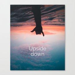 Upside down ll Canvas Print