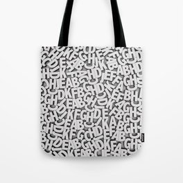 Learn the alfabet Tote Bag