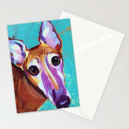 Chester - Colorful Greyhound Stationery Cards