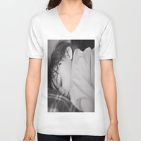 cookie V-neck T-shirts featuring Cookie by Cherise Josephine