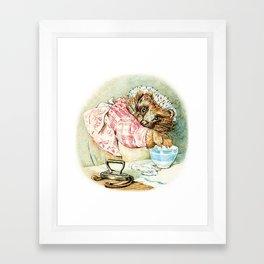 Mrs. Tiggywinkle by Beatrix Potter Framed Art Print
