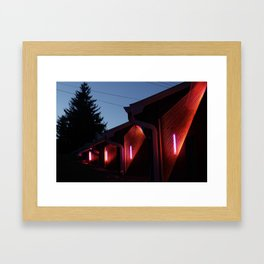 Support and Seizure Framed Art Print
