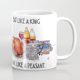 Eat Like A King Coffee Mug