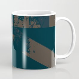 Abstract_Blue Coffee Mug