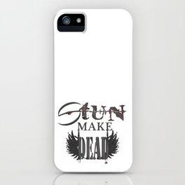 stun make iPhone Case