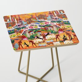 Ambos Nogales (Square) Side Table