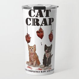 Cat CRAP Group Travel Mug
