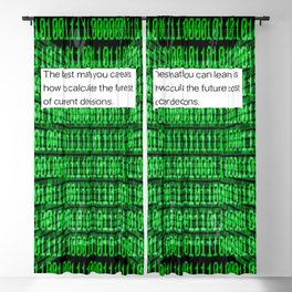 You Do The Math Blackout Curtain