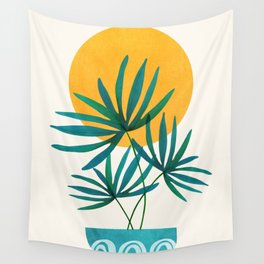 Little Palm + Sunshine Wall Tapestry