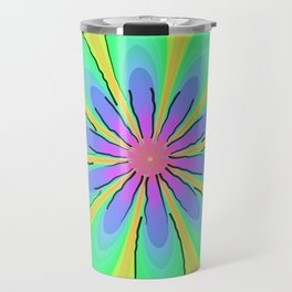 Return to the 70's Psychedelic Travel Mug
