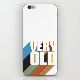 Very Old iPhone Skin