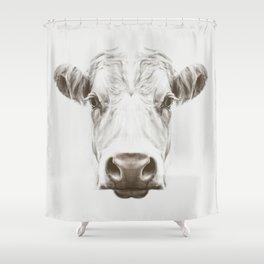Cow Sym Shower Curtain