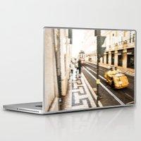 street Laptop & iPad Skins featuring Street by Sébastien BOUVIER