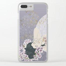 Cherry moon Clear iPhone Case