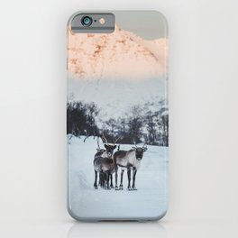 Hitch-hikers - Landscape and Nature Photography iPhone Case