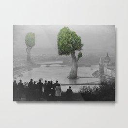 City of Nature Metal Print