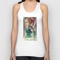 rogue Tank Tops featuring ROGUE by Tim Shumate
