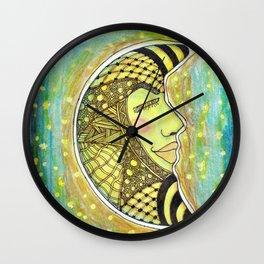 Man in the Moon Tangle Wall Clock