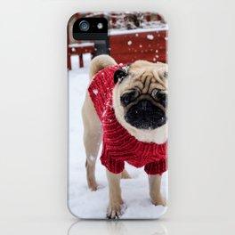 Dog by Karin Hiselius iPhone Case