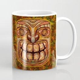 Cracky Face Tiki Coffee Mug