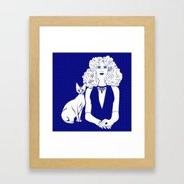 Poznanski-Cat2 Framed Art Print