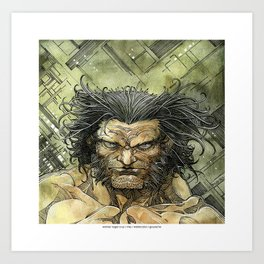Logan by Roger Cruz Art Print