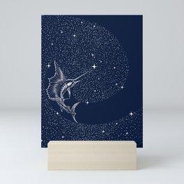 Starry sailor Mini Art Print