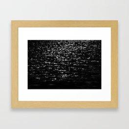 Water Two Framed Art Print