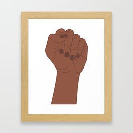 Female Power 1 Framed Art Print