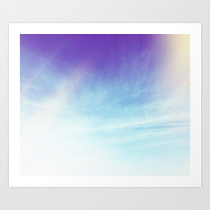 Hopeful Skies Art Print