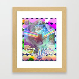 .:$:.GET MONEY.:$:. Framed Art Print