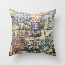 Camden Lock Village Throw Pillow