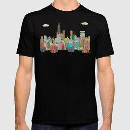 Chicago city (summer days) T-shirt