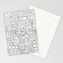 Coit City Pattern 1 Stationery Cards