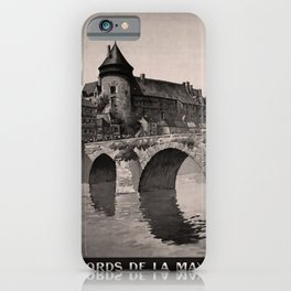 retro dark Laval old psoter iPhone Case