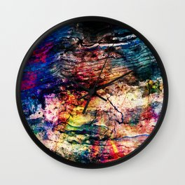painted marble Wall Clock