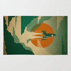 The Voyage (Green) Rug