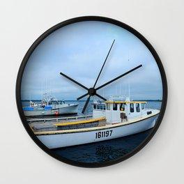 Ready to Go Fishing Wall Clock