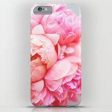 Peonies Forever iPhone 6 Plus Slim Case