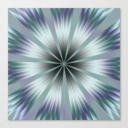 Winter Crinkle Canvas Print